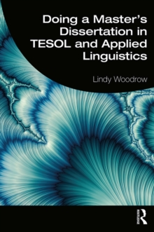 Doing a Master's Dissertation in TESOL and Applied Linguistics, PDF eBook