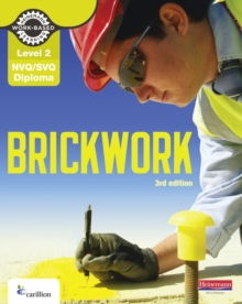 Level 2 NVQ/SVQ Diploma Brickwork Candidate Handbook 3rd Edition, Paperback / softback Book
