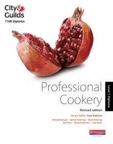 City & Guilds 7100 Diploma in Professional Cookery Level 1 Candidate Handbook, Revised Edition, Paperback / softback Book