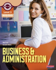 NVQ/SVQ Level 3 Business & Administration Candidate Handbook, Paperback Book
