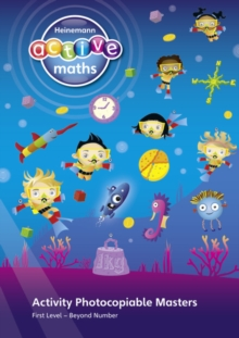 Heinemann Active Maths - First Level - Beyond Number - Activity Photocopiable Masters, Spiral bound Book