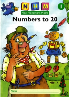 New Heinemann Maths Yr1, Number to 20 Activity Book (8 Pack), Multiple copy pack Book