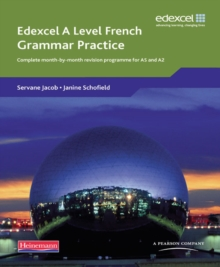 Edexcel A Level French Grammar Practice Book, Paperback / softback Book