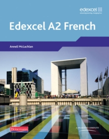 Edexcel A Level French (A2) Student Book and CDROM,  Book