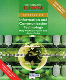 Intermediate GNVQ ICT Student Book with Edexcel Options, Paperback Book