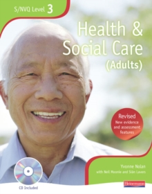 NVQ/SVQ Level 3  Health and Social Care Candidate Book, Revised Edition,  Book