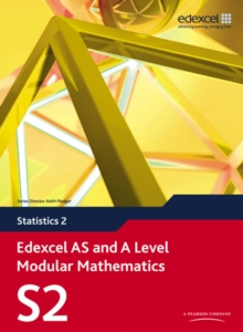 Edexcel AS and A Level Modular Mathematics Statistics 2 S2, Mixed media product Book