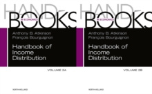 Handbook of Income Distribution : Volume 2A-2B, Mixed media product Book