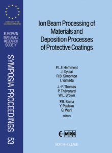 Ion Beam Processing of Materials and Deposition Processes of Protective Coatings, PDF eBook