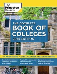 Complete Book of Colleges 2018 Edition, Paperback Book