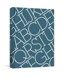 House Industries Indigo Linen Journal, Paperback Book