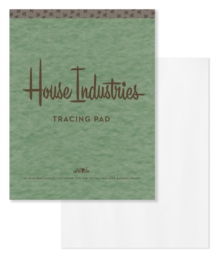House Industries Tracing Pad, Paperback Book