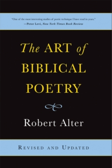 The Art of Biblical Poetry, Paperback Book
