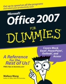 Office 2007 for Dummies, Paperback Book