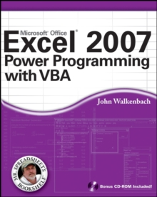 Excel 2007 Power Programming with VBA, Paperback Book