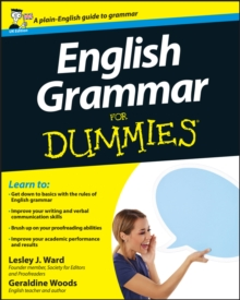 English Grammar For Dummies, Paperback Book