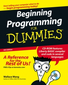 Beginning Programming for Dummies, 4th Edition, Paperback Book