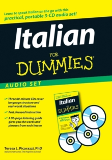 Italian For Dummies Audio Set, Undefined Book