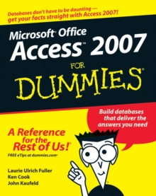 Access 2007 For Dummies, PDF eBook