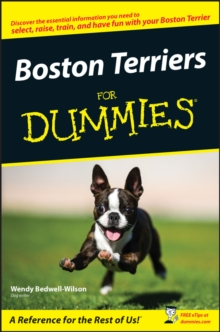 Boston Terriers for Dummies, Paperback / softback Book