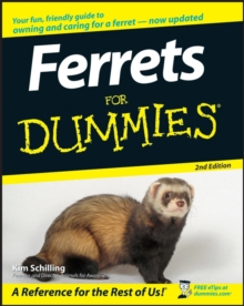 Ferrets for Dummies, 2nd Edition, Paperback Book