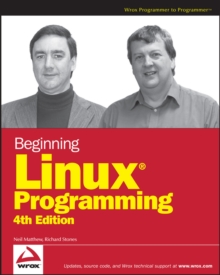 Beginning Linux Programming, Paperback / softback Book