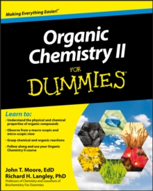 Organic Chemistry II For Dummies, Paperback Book