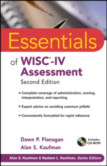 Essentials of WISC-IV Assessment, Paperback / softback Book