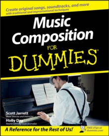 Music Composition For Dummies, Paperback Book