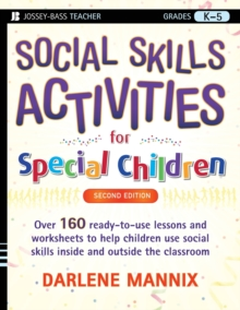 Social Skills Activities for Special Children, Paperback Book