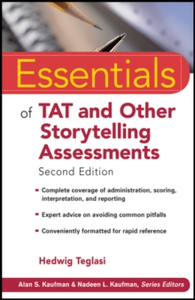 Essentials of TAT and Other Storytelling Assessments, Paperback / softback Book