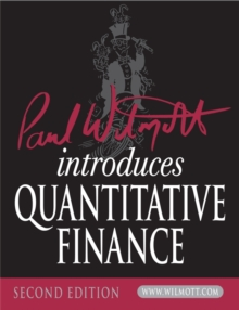 Paul Wilmott Introduces Quantitative Finance, Paperback / softback Book