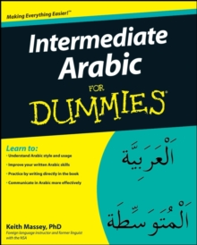 Intermediate Arabic for Dummies, Paperback Book