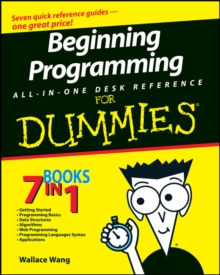 Beginning Programming All-in-One Desk Reference For Dummies, PDF eBook