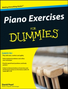 Piano Exercises For Dummies, Paperback / softback Book