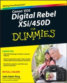 Canon EOS Digital Rebel XSi/450D For Dummies, PDF eBook