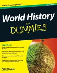 World History For Dummies, Paperback / softback Book