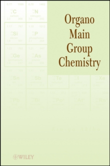 Organo Main Group Chemistry, Paperback Book