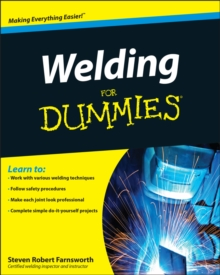 Welding for Dummies, Paperback Book