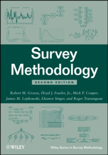 Survey Methodology, Second Edition, Paperback Book