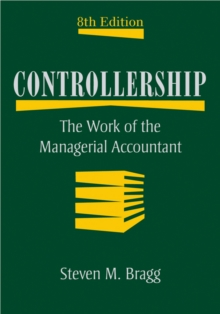 Controllership : The Work of the Managerial Accountant, Hardback Book