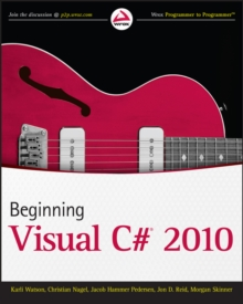 Beginning Visual C# 2010, Paperback / softback Book
