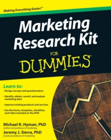 Marketing Research Kit For Dummies, Paperback Book