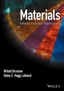 Materials : Introduction and Applications, Hardback Book