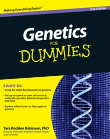 Genetics for Dummies, 2nd Edition, Paperback Book