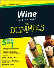 Wine All-in-One For Dummies, EPUB eBook