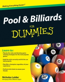 Pool & Billiards for Dummies, Paperback Book