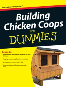 Building Chicken Coops For Dummies, Paperback / softback Book