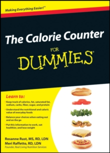 The Calorie Counter For Dummies, PDF eBook