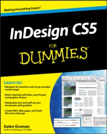 InDesign CS5 For Dummies, Paperback Book